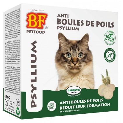 Comprimés anti boules de poils pour chats Biofood