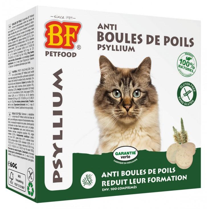 Comprimés anti boules de poils pour chats - Biofood