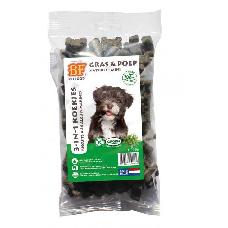 Biscuits pour chiens aux algues marines - 200g Biofood
