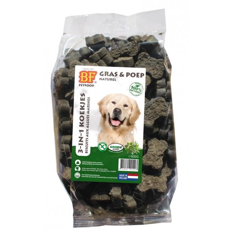 Biscuits pour chiens aux algues marines - 500g Biofood