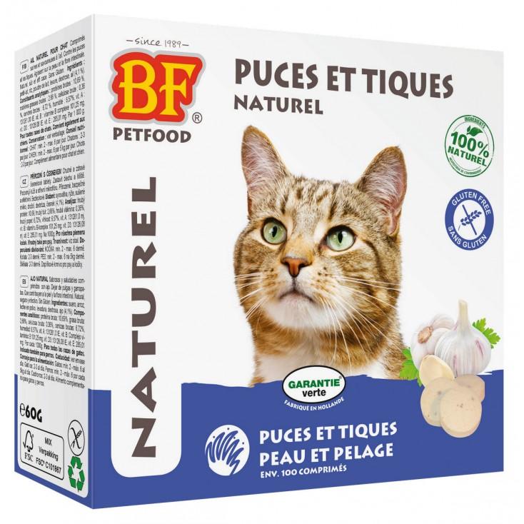 Comprimés puces et tiques pour chats Biofood