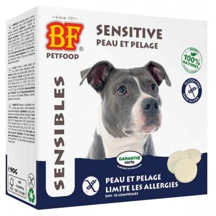 Comprimés Sensibles Peau et Pelage pour chiens Biofood