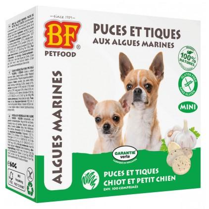 Comprimés puces et tiques aux algues marines pour chiens Biofood