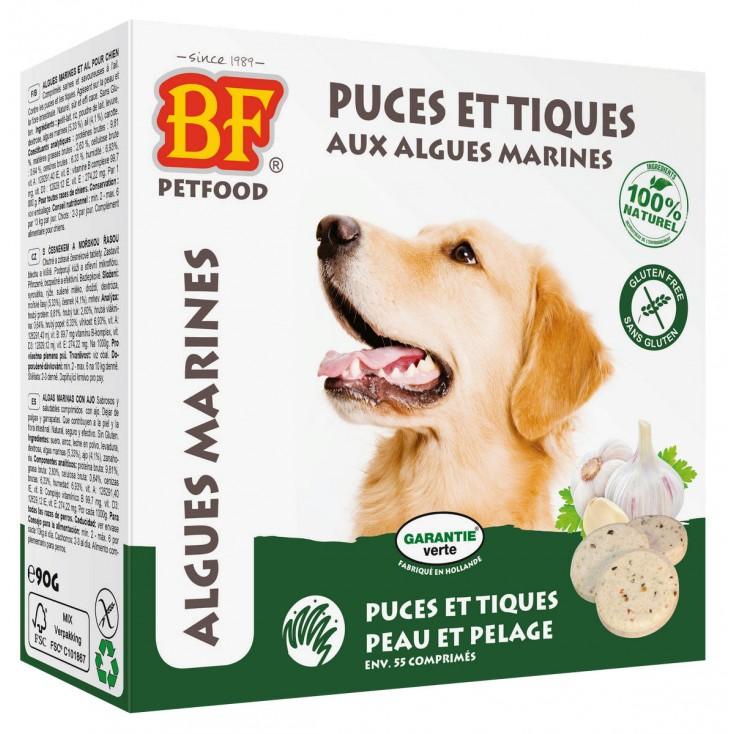 Comprimés puces et tiques aux algues marines pour chiens - Maxi - Biofood