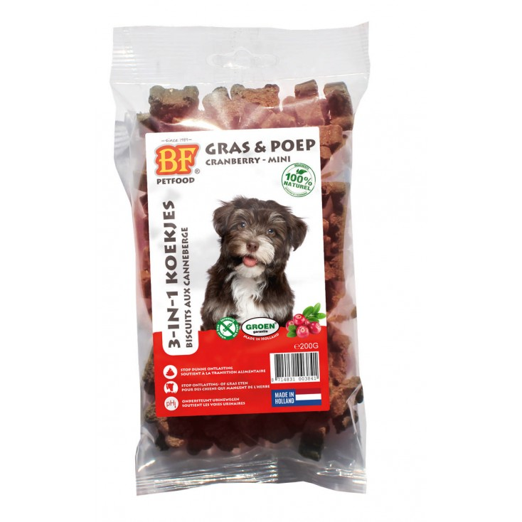 Biscuits pour chiens aux Cranberries Biofood 200g
