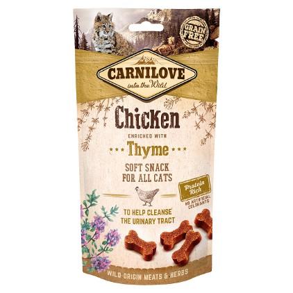 Friandise pour chat Carnilove saveur poulet et thym