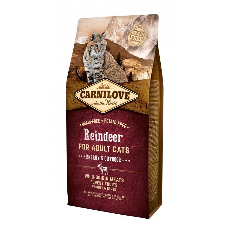 Croquettes au renne Energy & Outdoor Carnilove 6kg
