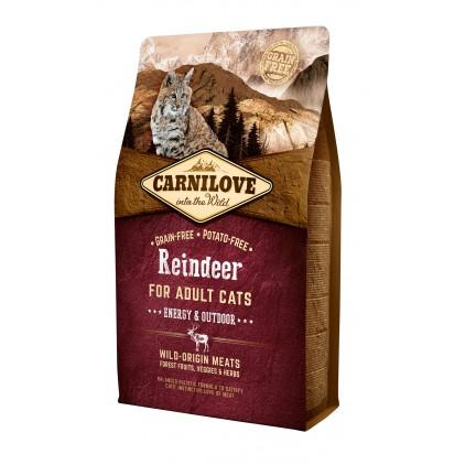 Croquettes au renne Energy & Outdoor Carnilove 2kg