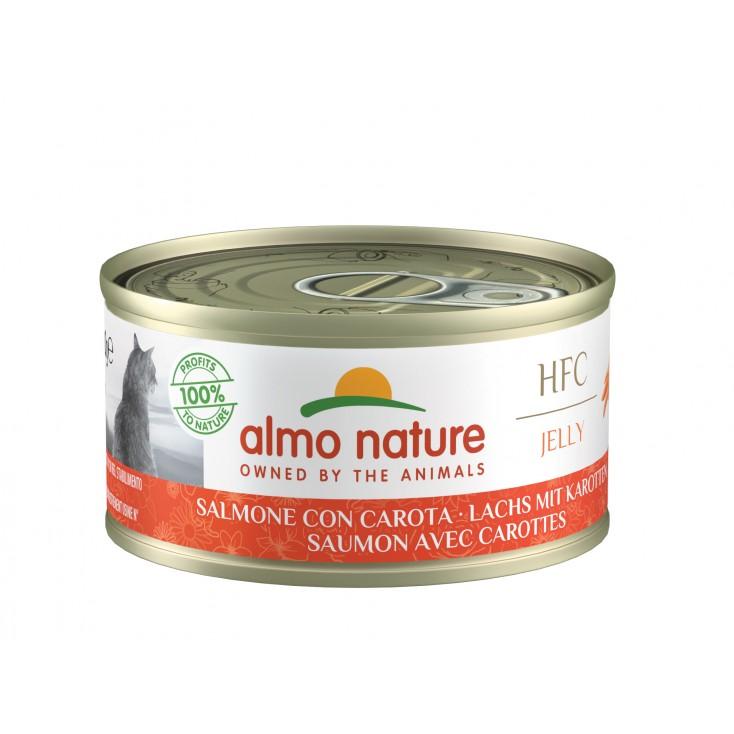 HFC Natural 70g saumon carottes