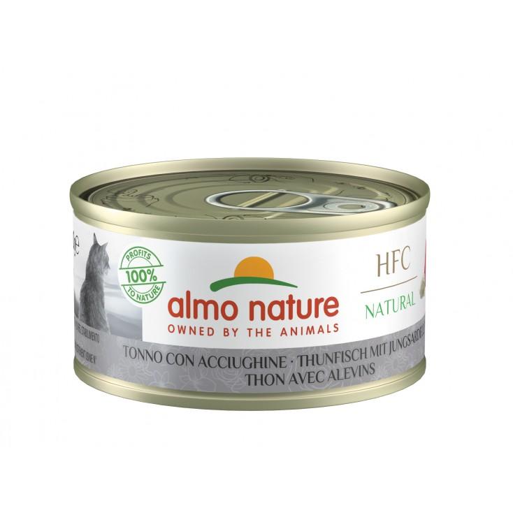 HFC Natural 70g thon avec alevins