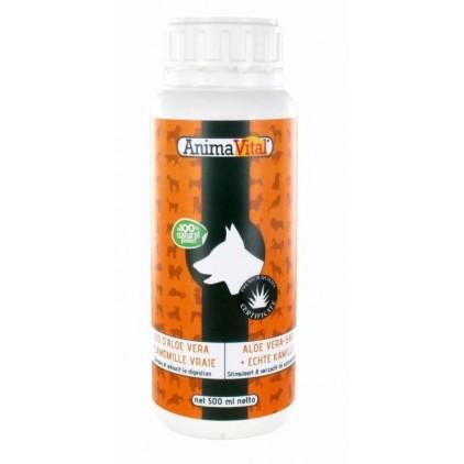 Jus d'Aloe Vera et Camomille vraie pour chiens et chats - Animavital