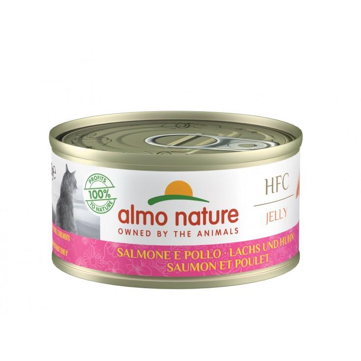 HFC Natural 70g saumon et poulet
