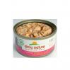 HFC Natural 70g saumon et poulet ouverte