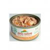 HFC Natural 70g thon et crevettes ouverte