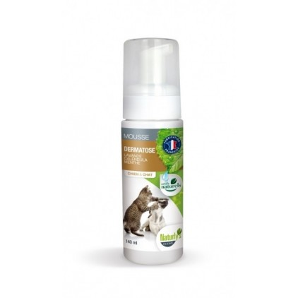 shampoing sec mousse dermatose pour chiens et chats naturly 39 s. Black Bedroom Furniture Sets. Home Design Ideas