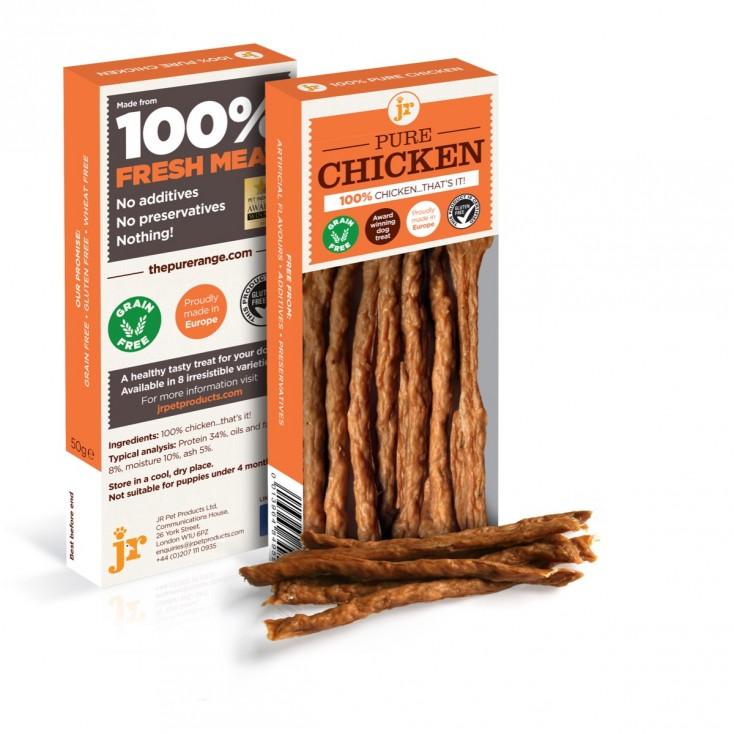 Sticks de viande pour chiens JR Pet Products Poulet