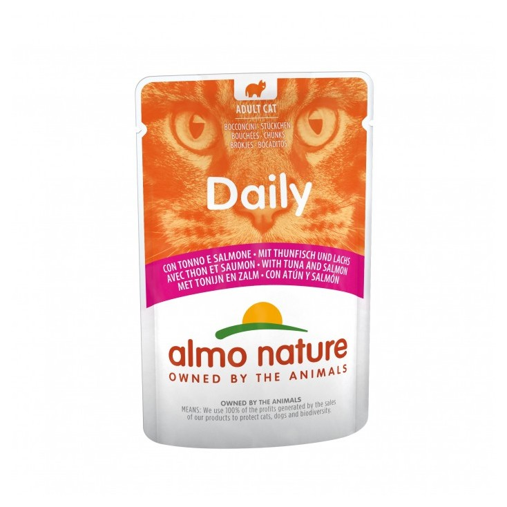 Daily Almo Nature pâtées 30 x 70g thon et saumon