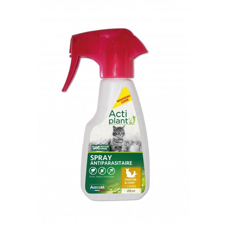 Antiparasitaire chaton et chat spray Actiplant