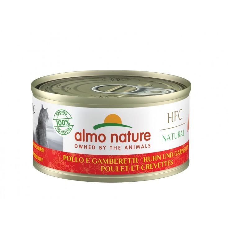 Almo Nature Legend - Poulet crevettes 70g fermée