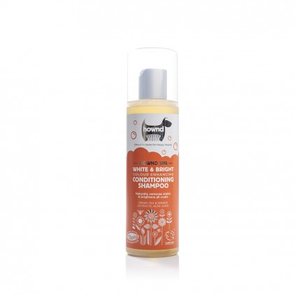 Shampoing conditionneur raviveur de couleur Miracle White & Bright Hownd