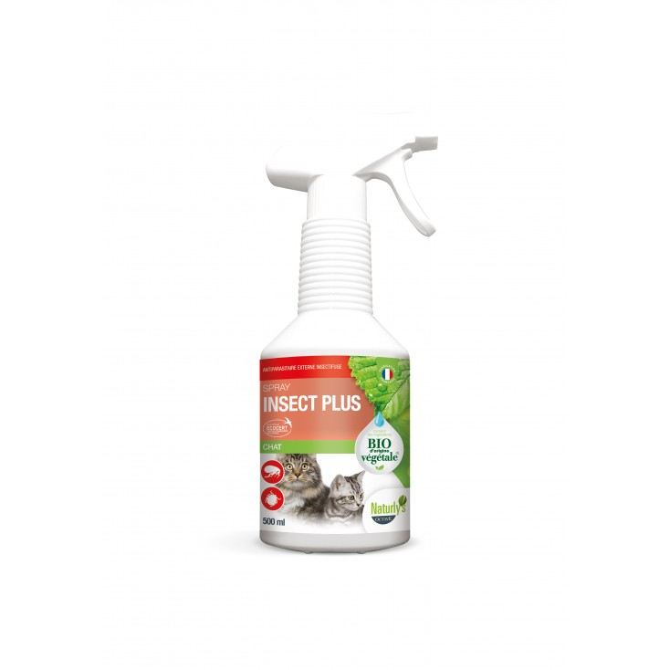 Lotion Insect Plus Bio chats et chatons 500ml