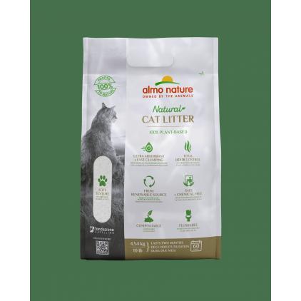 Litière végétale naturelle pour chats Catlitter Almo Nature