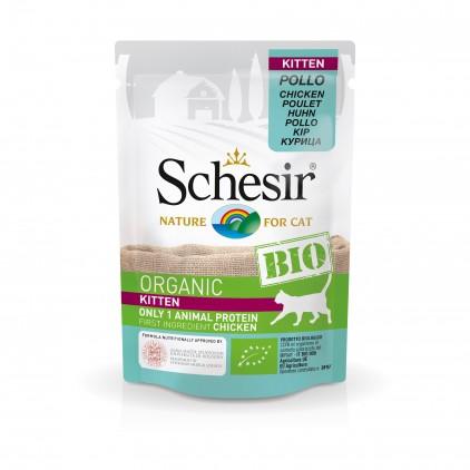 Sachets Bio chaton Schesir 8x85g