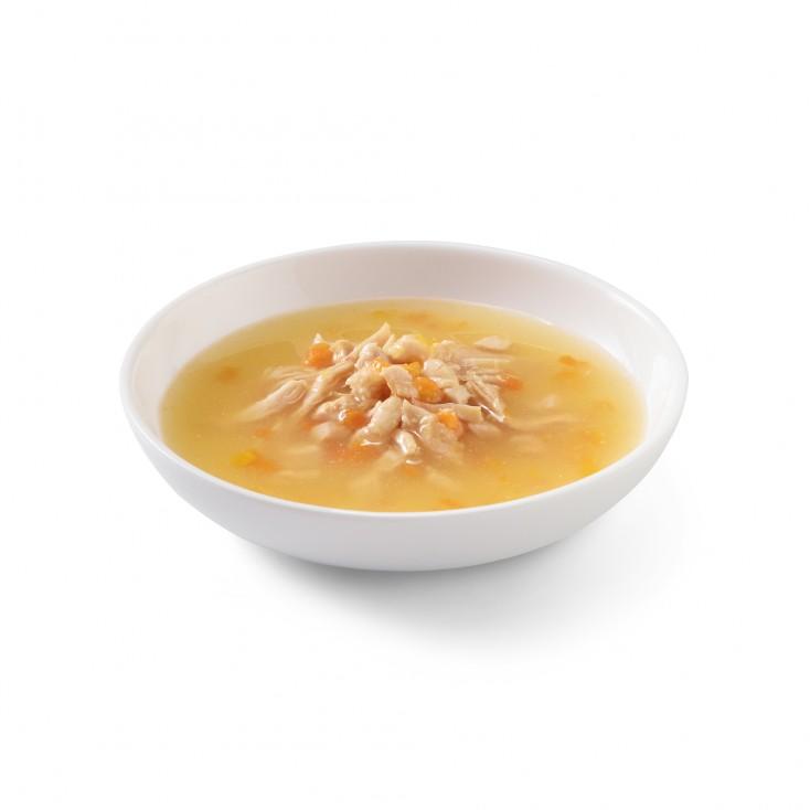 Soupes pour chat Schesir 10x85g Poulet et citrouille visuel