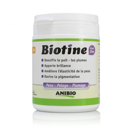 Biotine avec Zinc Anibio 140g