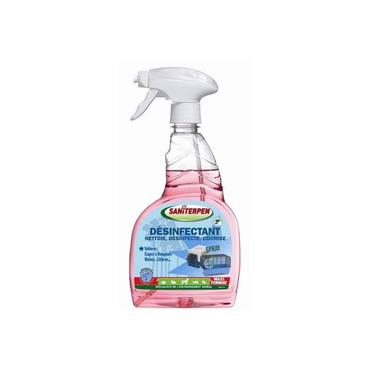 Désinfectant spray Saniterpen