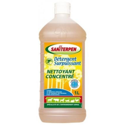 Detergent surpuisant saniterpen