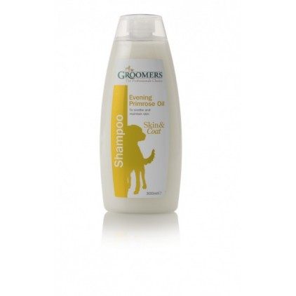 Shampoing naturel Groomers � l´huile d´onagre pour chiens