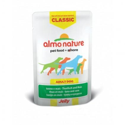 Sachet fraicheur Classic Jelly pour chiens - Almo Nature