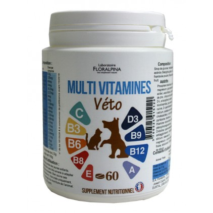Multi vitamines véto - Floralpina