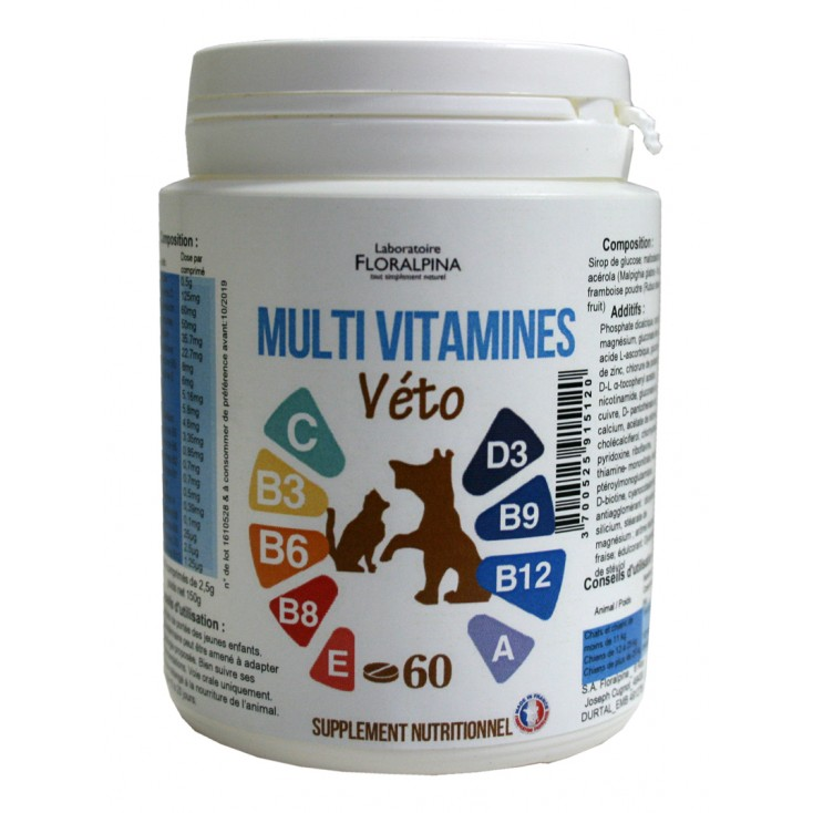 Multi vitamines véto