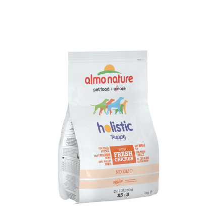 Croquettes chiots Holistic Puppy - Almo Nature