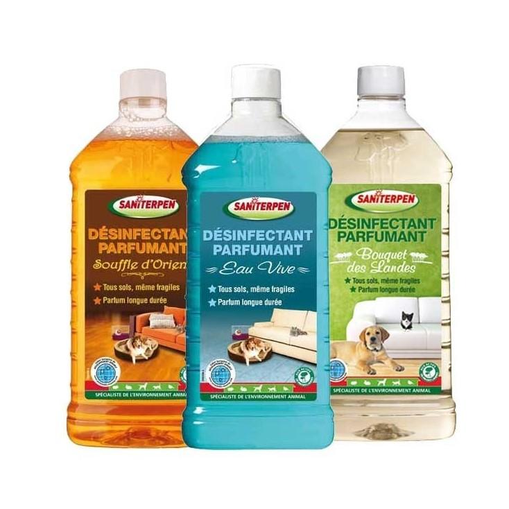 Désinfectant parfumant Saniterpen