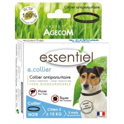 E. Collier essentiel pour chiens