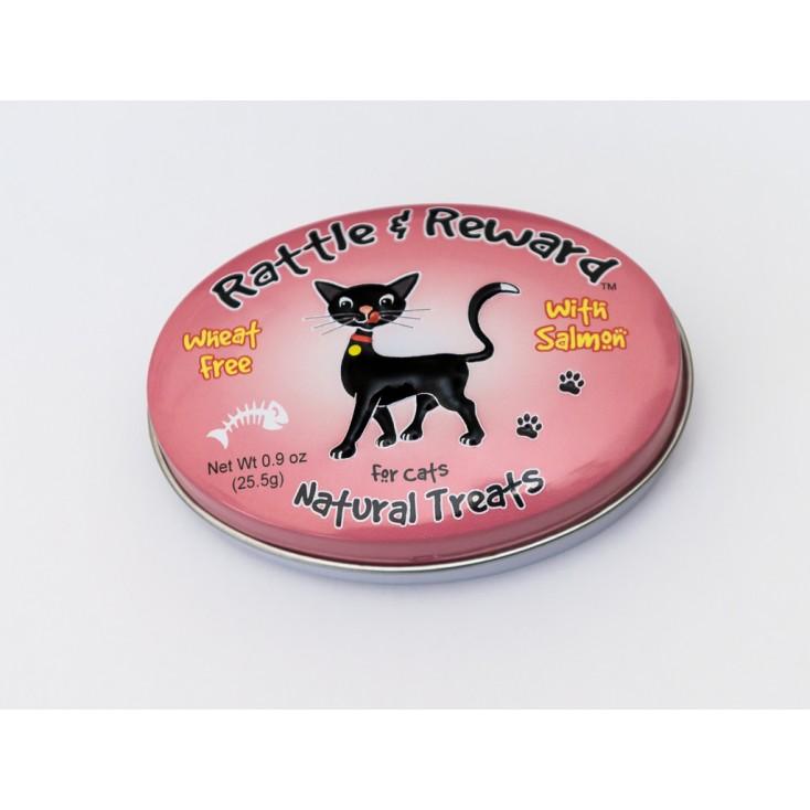 Friandises récompenses naturelles pour chats boite 30g - Rattle & Reward